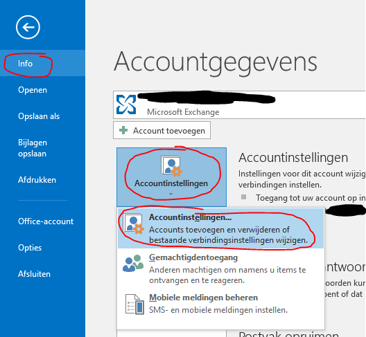 Outlook Cache uitschakelen 01