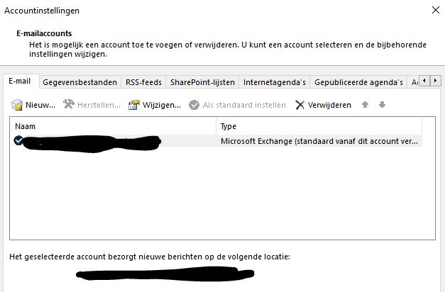 Outlook Cache uitschakelen 02