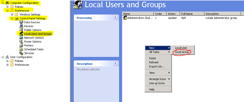 local admin group policy 03
