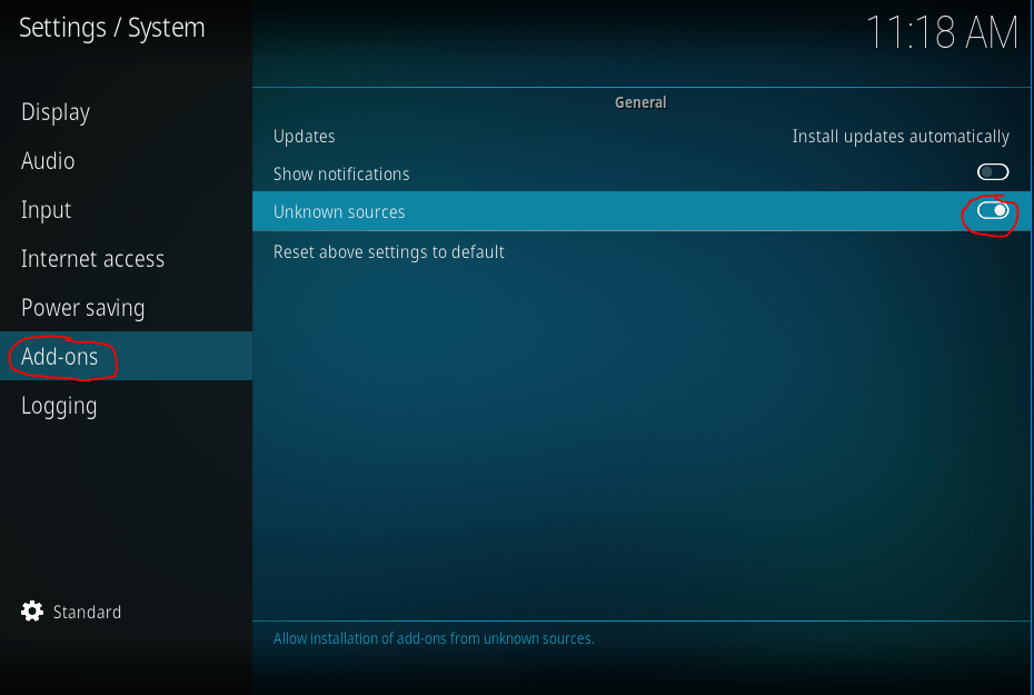Covenant installeren in Kodi 03