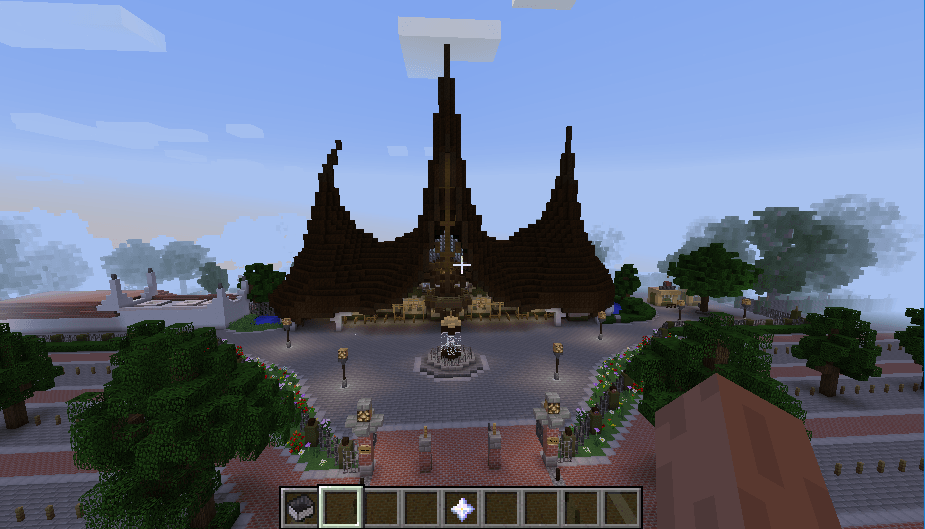 Efteling map in minecraft 01