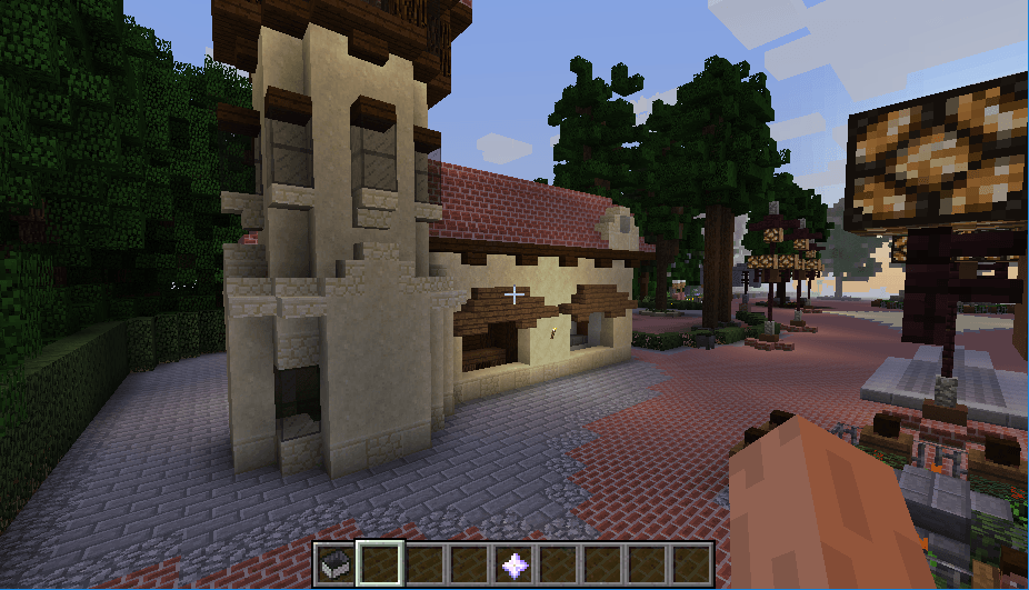 Efteling map in minecraft 03