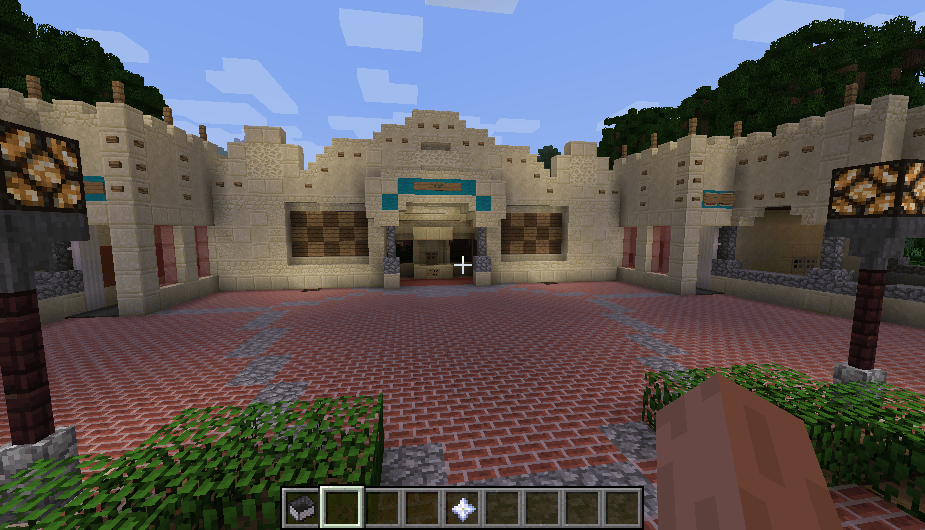 Efteling map in minecraft 05
