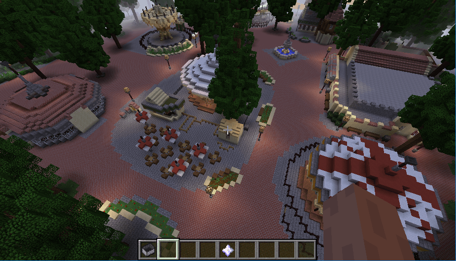 Efteling map in minecraft 06