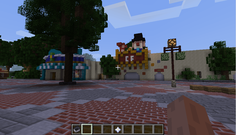 Efteling map in minecraft 08
