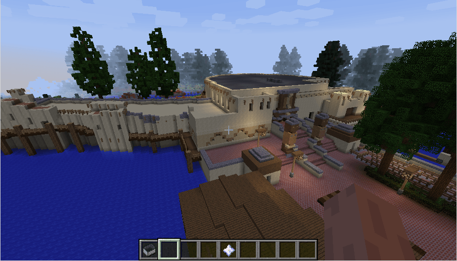 Efteling map in minecraft 09