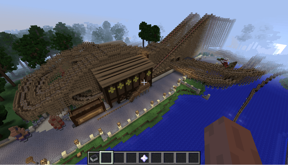 Efteling map in minecraft 10