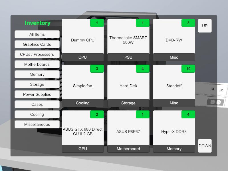 Virtueel een PC bouwen met PC Building Simulator 04