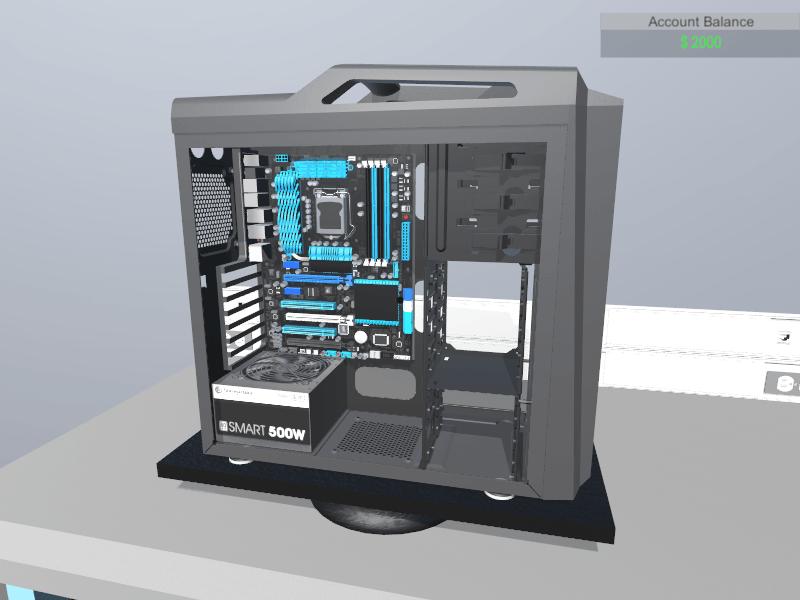 Virtueel een PC bouwen met PC Building Simulator 05