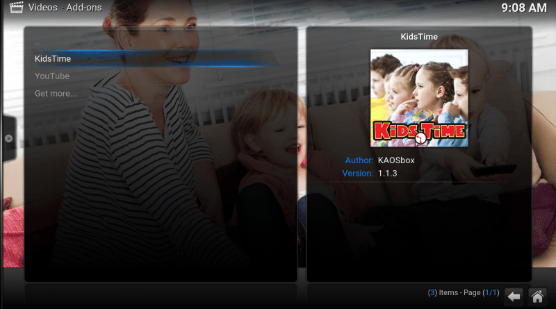 KinderTube in Kodi installeren 18