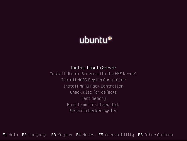 Ubuntu Linux Server 16.04 LTS Installeren 02