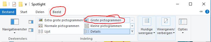 Windows Spotlight afbeeldingen opslaan 11