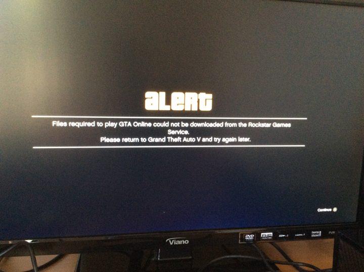 GTA V online error 01