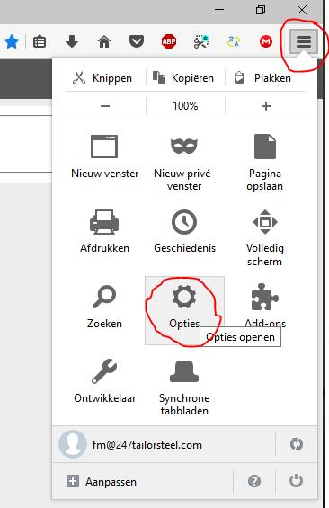 Protime Certificaat installeren Firefox 02