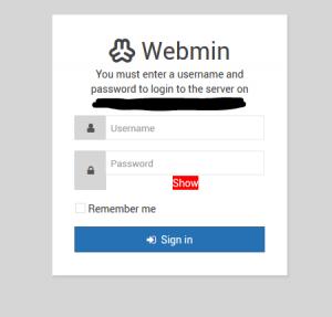 Webmin installeren op een Ubuntu 16.04 Linux Server