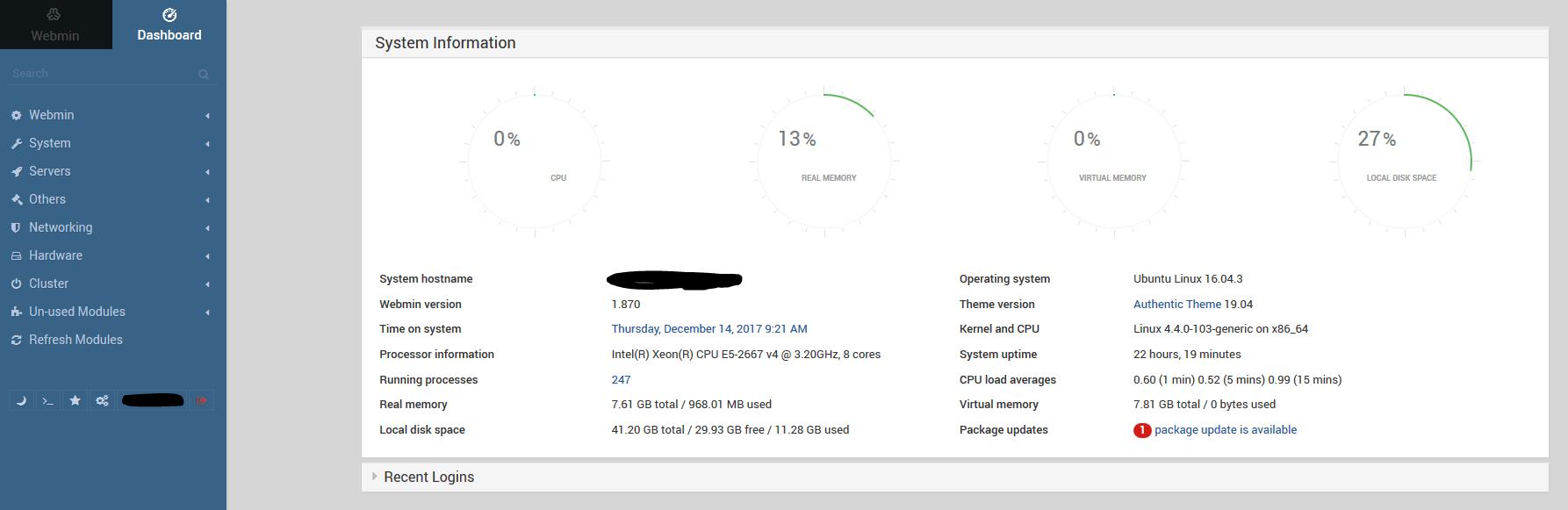 webmin installeren 02