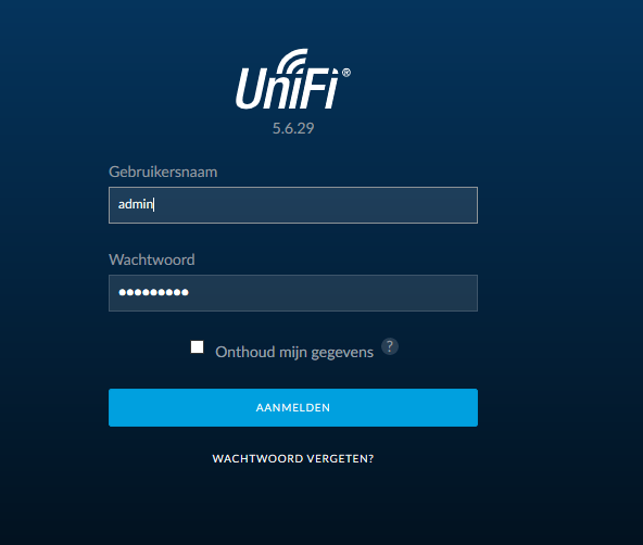 unifi controller errors 07