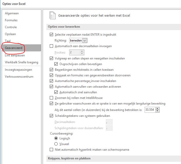 Excel opent met een grijs scherm 03
