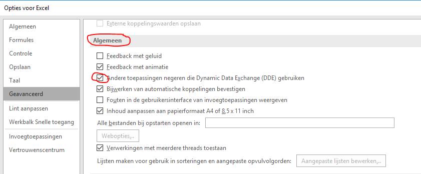Excel opent met een grijs scherm 04