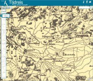Topografisch Tijdreizen !