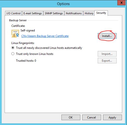 certificaat-melding 0
