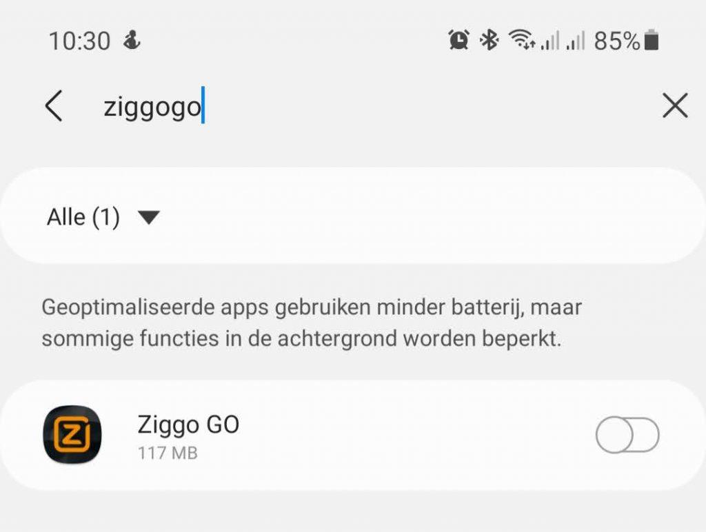 Ziggo Go Chromecast 11