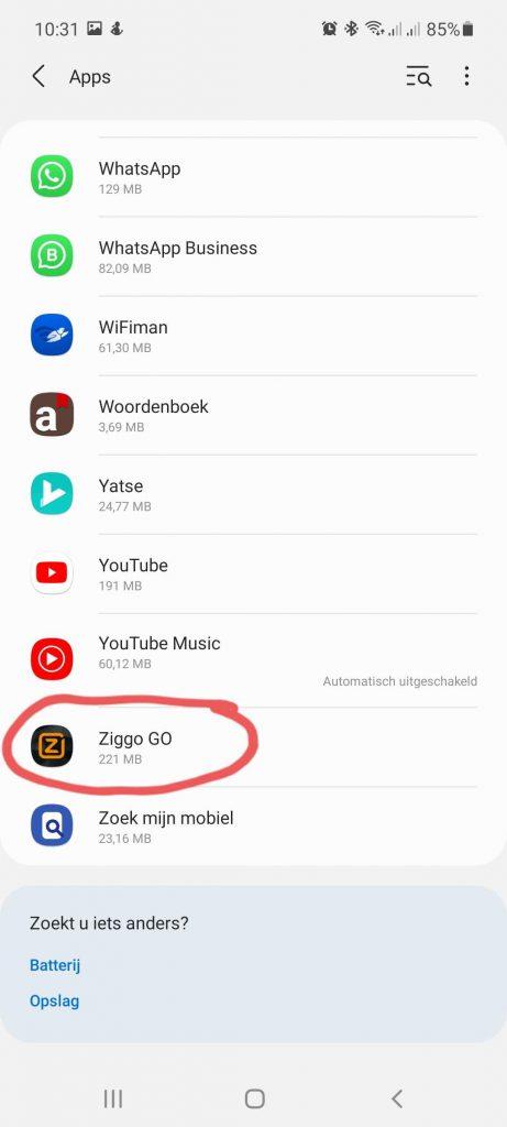 Ziggo Go Chromecast 3