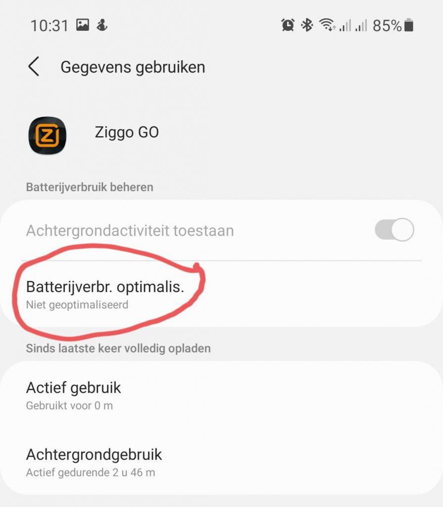 Ziggo Go Chromecast 7